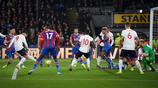 Roberto Firmino scores the winner against Crystal Palace