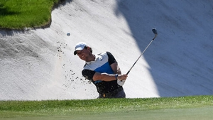 McIlroy posted five birdies and an eagle on the seventh hole in a bogey-free round of 65 on Saturday