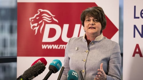 """DUP leader Arlene Foster said there was """"significant"""" anger over checks on goods from Great Britain"""