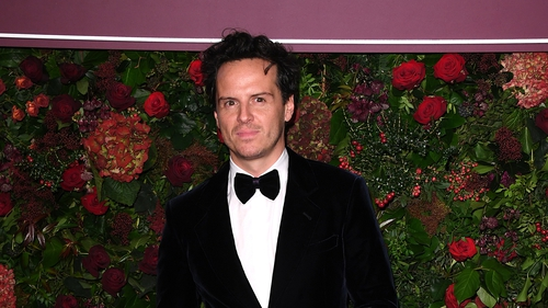 Andrew Scott pictured as he arrived at the awards ceremony