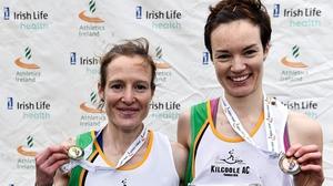 Fionnuala McCormack (L) and her sister Una Britton