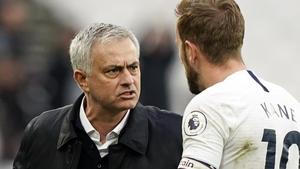 Kane (r) on Mourinho: 'He wants to win. He's a proven winner'
