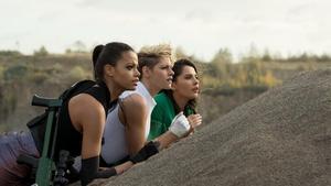 Charlie's Angels: Ella Balinska, Kristen Stewart and Naomi Scott