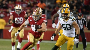 The Packers were unable to stop George Kittle in their regular season encounter