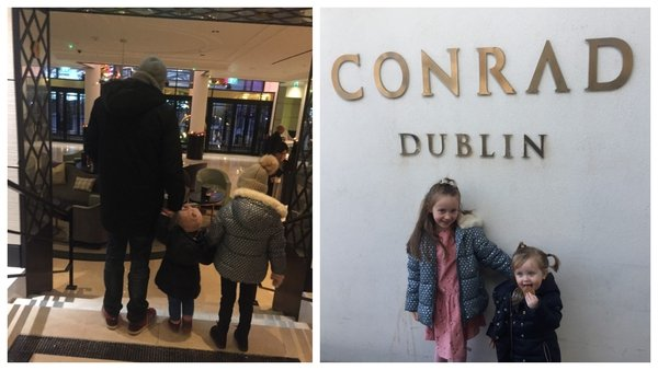 A fun weekend in the Conrad Dublin trying out their new family rooms.