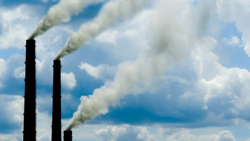 Greenhouse gas emissions from Irish power generation and industrial companies fell by 8.7% last year.