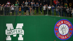 Fans watch the action at Gaelic Park in New York
