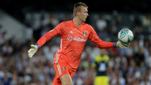 Marek Rodak is currently first-choice keeper at Fulham