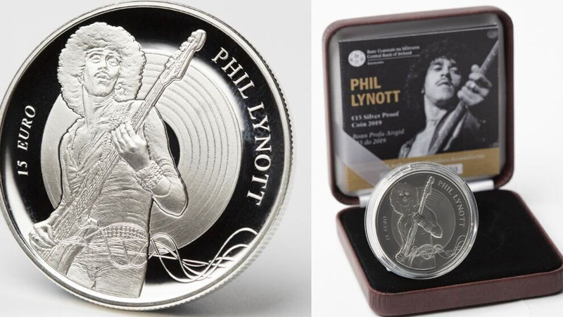 Silver coin commemorates birth of Phil Lynott