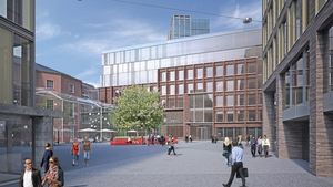 The development will include a public plaza