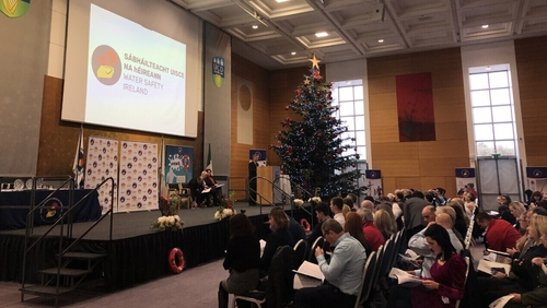 Dr Matthew Sillsis one of a number of rescuers being recognised at Water Safety Ireland's National Awards ceremony in UCD