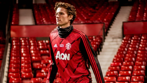 Taylor in Manchester United Europa squad a year after cancer treatment