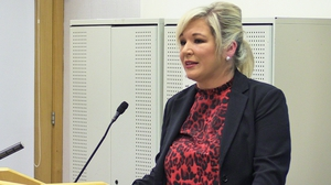 Michelle O'Neill said: 'Let's get down to business and find a positive way forward'