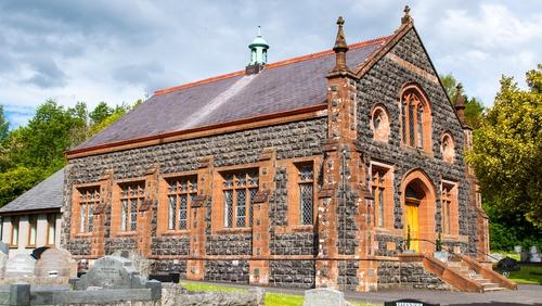 Ballycairn Presbyterian Church in Lisburn. Photo: Bobby McKay  Drumbo https://www.flickr.com/photos/b0b0b/