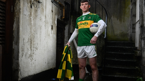 Clonmel Commercials' Seamus Kennedy pictured ahead of the AIB Munster Senior Football Club Championship Final