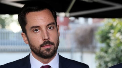 Eoghan Murphy's spokesperson said this motion is an 'election stunt'