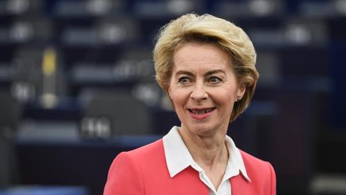 Ursula von der Leyen told MEPs she will always be a Remainer