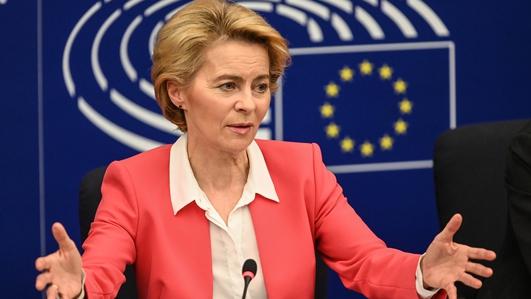 European Commission President, Ursula von Der Leyen, Visiting Dublin