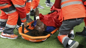 Tammy Abraham can't look after sustaining a painful injury against Valencia