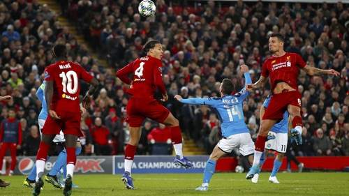 Dejan Lovren's powerful header got Liverpool back on level terms at Anfield