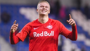 Erling Haaland has become the first teenager in Champions League history to score in five consecutive appearances in the competition
