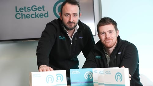 LetsGetChecked's COO Ronan Ryan and CEO Peter Foley