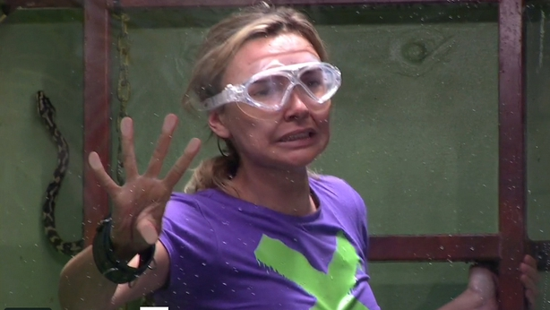 Things take a Sinister turn for Nadine on I'm a Celeb