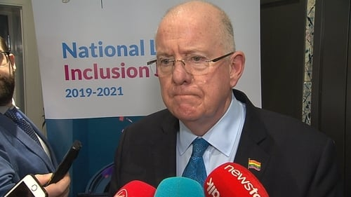 Charlie Flanagan said formal and legislative equality has largely been achieved but there were still too many negative experiences