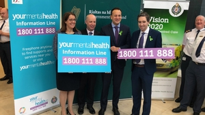 The helpline was officially launched at the National Emergency Operations Centre of the National Ambulance Service in Dublin