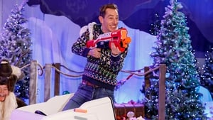 Ryan Tubridy on the set of this year's Late Late Toy Show