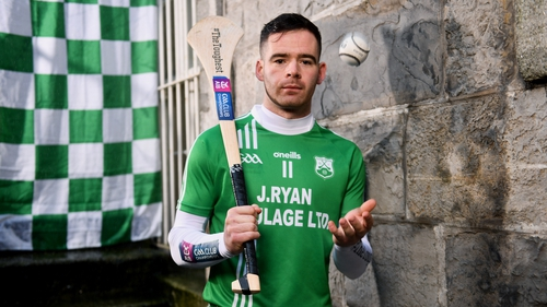 Marty Kavanagh pictured ahead of the Leinster Hurling Club Championship final between St Mullins and Ballyhale Shamrocks