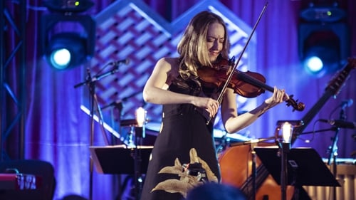 Aoife O'Brien performs at Other Voices Berlin