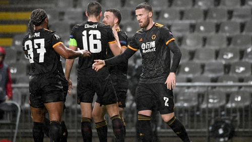 Matt Doherty was on the scoresheet for Wolves against Braga