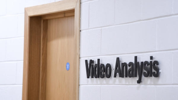 The video analysis room at the Kerry GAA Centre of Excellence in Currans