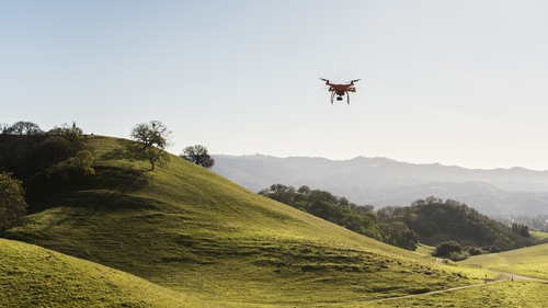 All drones weighing 1kg or more must be registered with the Irish Aviation Authority
