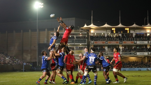 Nigel Wray was not there to see Saracens win