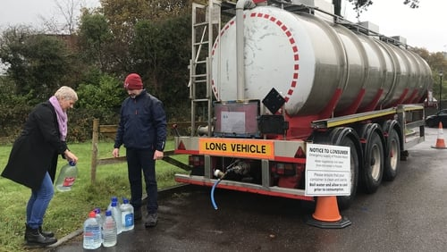 Irish Water issued a Do Not Consume notice in August 2018 to around 70 homes at Belvelly near Cobh, telling residents the water was not safe to consume, even if it was boiled
