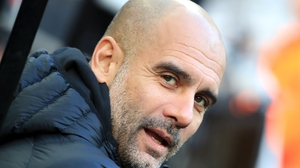 Pep Guardiola: 'I know it doesn't count, but I have to analyse the performance and the performance was good.'