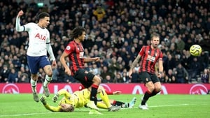 Dele Alli finds the net