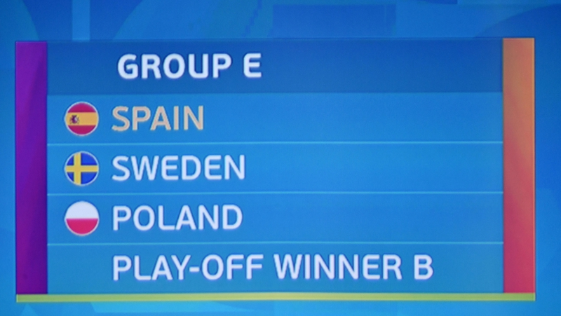 Spain, Sweden and Poland await should Ireland qualify