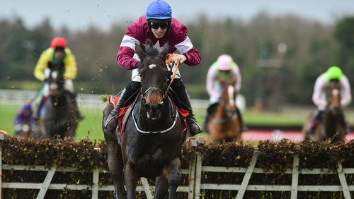 Apple's Jade has a liking for the Co Meath track
