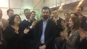 Green Party's Joe O'Brien won in Fingal