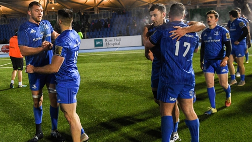 Leinster have a perfect record in this season's Pro14