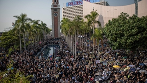 The protests come a day after police clashed briefly with demonstrators