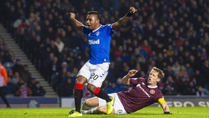 Morelos opened the scoring for Gers