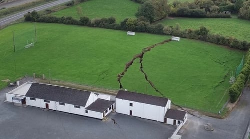 Magheracloone lost their facilities to subsidence in September 2018 after part of a disused mine collapsed