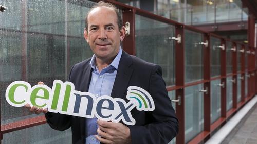 Colin Cunningham, Managing Director of Cellnex in Ireland