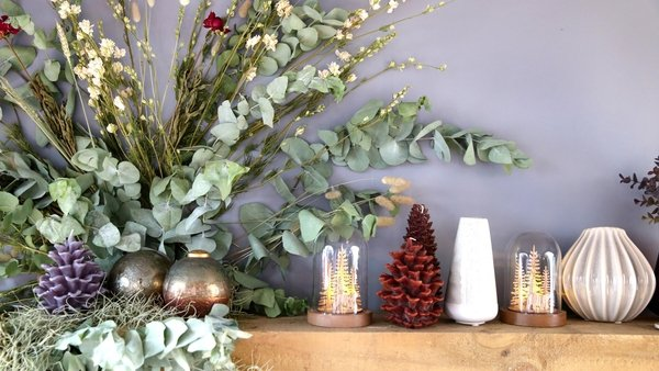 Bring that Christmas cheer indoors with these mantelpiece makeovers, using garlands, candle circles and stand-alone showstoppers.