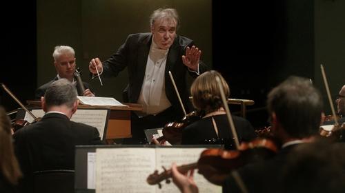 Conductor Jaime Martín leads the RTÉ National Symphony Orchestra