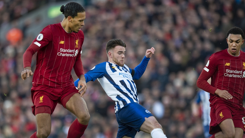 Connolly reflects on tussle with Virgil van Dijk